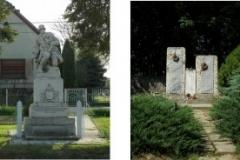 I. és II. világháborús emlékművek